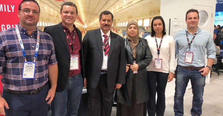 Grupo Alvorada se reúne com Diretor Geral da empresa Middle East for Veterinary Supplies L.L.C, parceiro de negócios do EAU