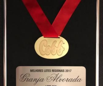 Alvorada Group has received from Cobb-Vantress the best flock award of 2017