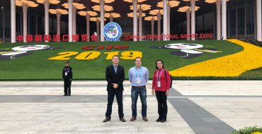 Grupo Alvorada marca presença na China International Import Expo (CIIE 2019), em Xangai
