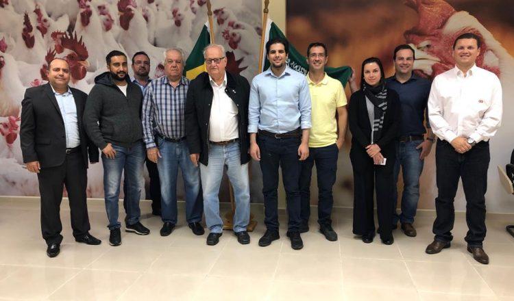 Grupo Alvorada recebe visita da ARASCO Foods