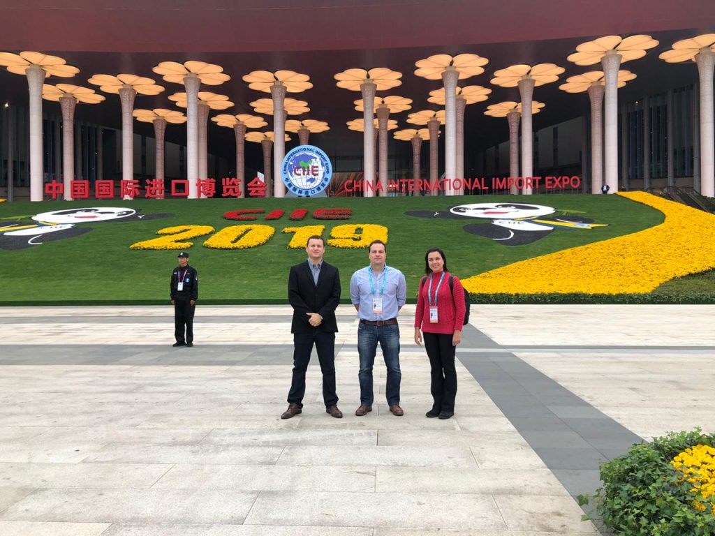 Alvorada Group in the China International Import Expo (CIIE 2019), in Shanghai