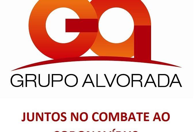 Ações adotadas pelo Grupo Alvorada no enfrentamento ao Coronavírus (Covid-19)